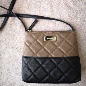 ✨NWOT Nine West Crossbody Black/Brown Bag